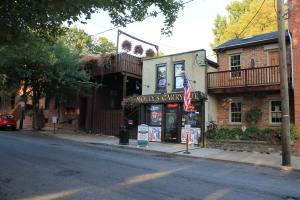 Pub facade in Lancaster City