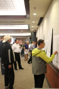 Economic Development Strategic Plan Public Meeting, mapping activity