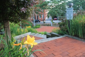 A neighborhood park in Lancaster, PA
